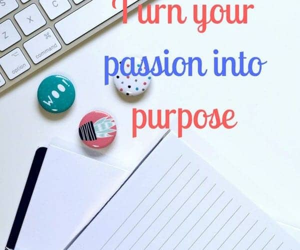 Terms and conditions of turning your passion into purpose.l