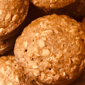 Whole Wheat and Oat muffins