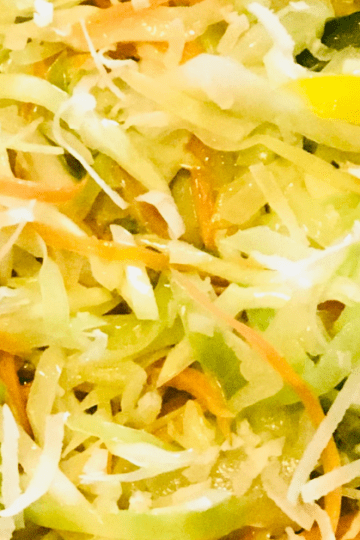 Stir-fry Cabbage Recipe