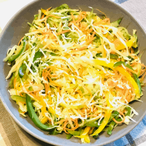 Healthy and Delicious Cabbage stir fry